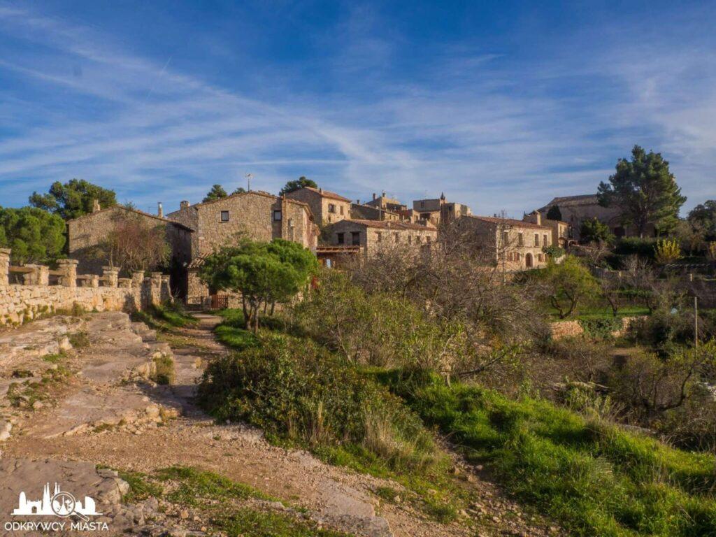 siurana kamienne domy w siuranie