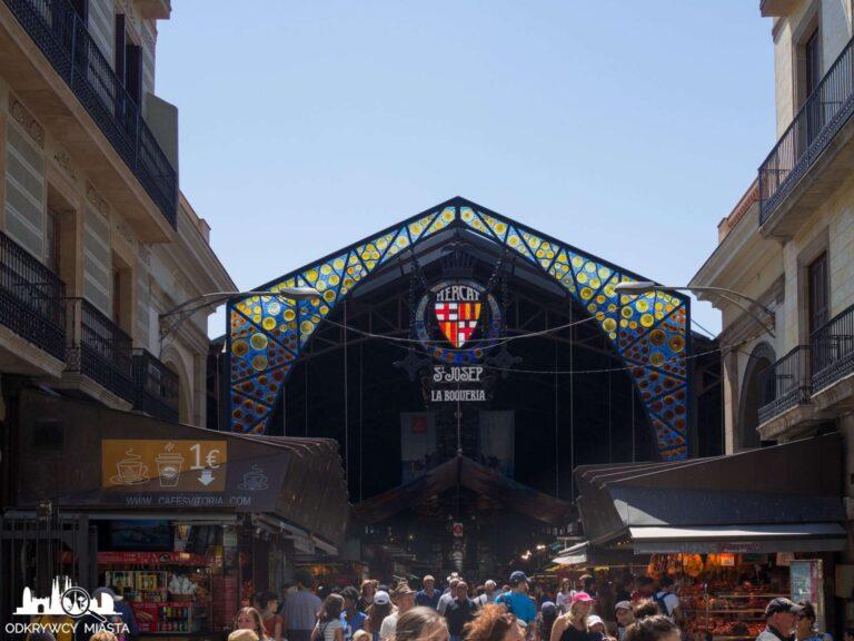 La Boqueria - Najważniejszy targ Barcelony