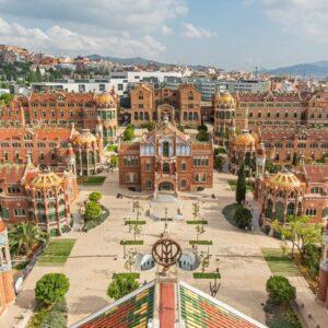 szlakiem modernistycznych budowli Barcelony