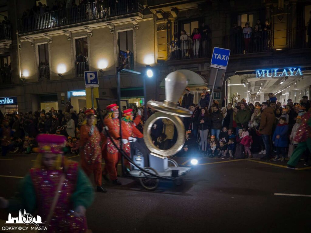 Parada 3 króli w Barcelonie