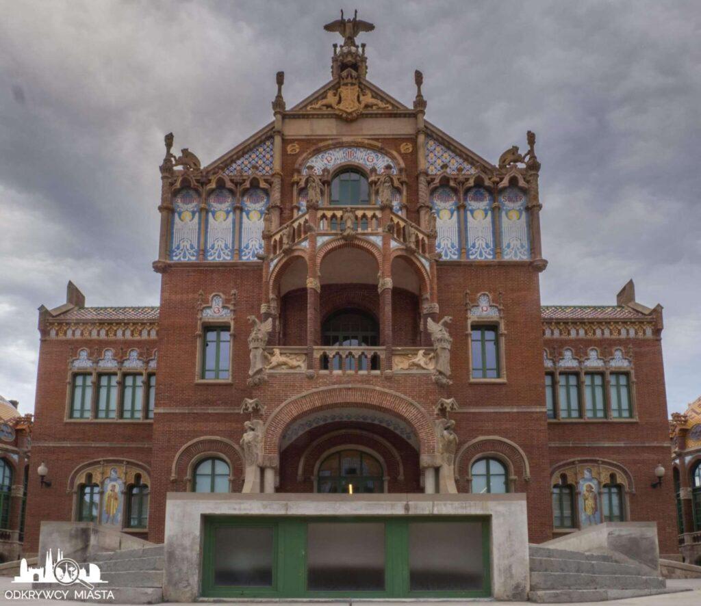 szpital św pawła barcelona budynek z salą operacyjną