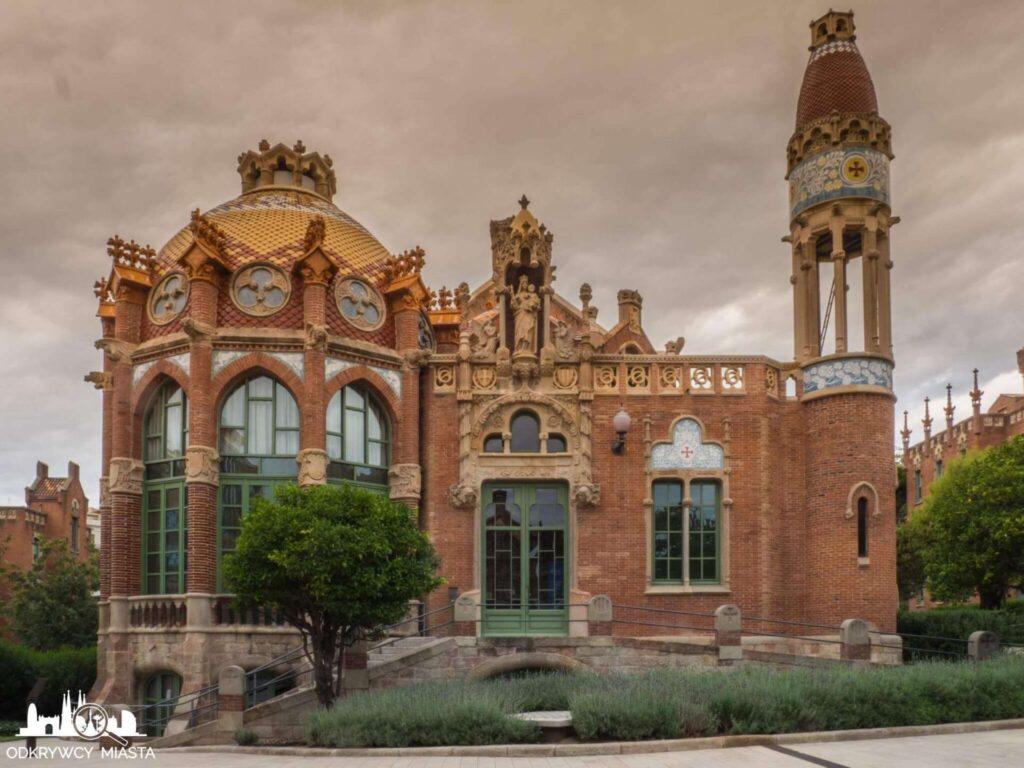 szpital św pawła barcelona pawilon chorych strona żeńska
