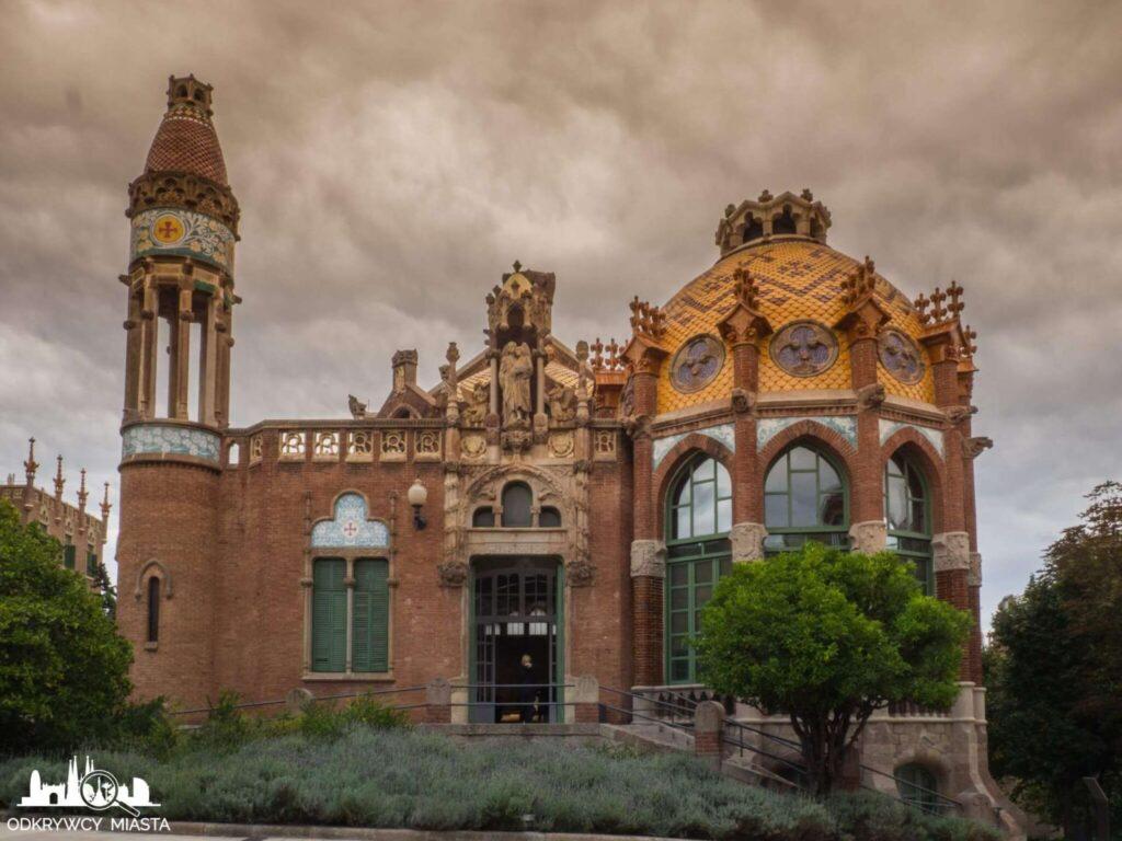szpital św pawła barcelona pawilon chorych strona męska