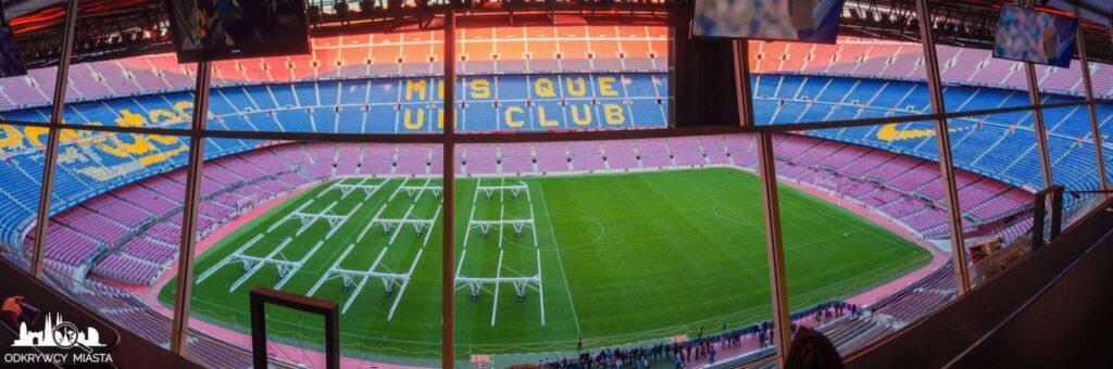 widok na cały stadion