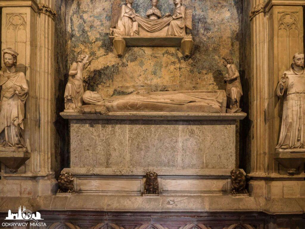 klasztor Pedralbes grób fundatorki klasztoru
