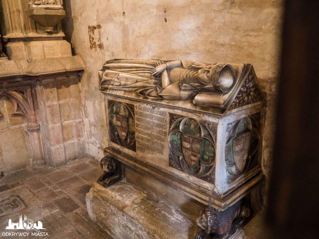 klasztor Pedralbes grób