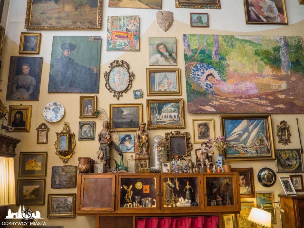 Pracownia Oleguer Junyent obrazy na ścianie
