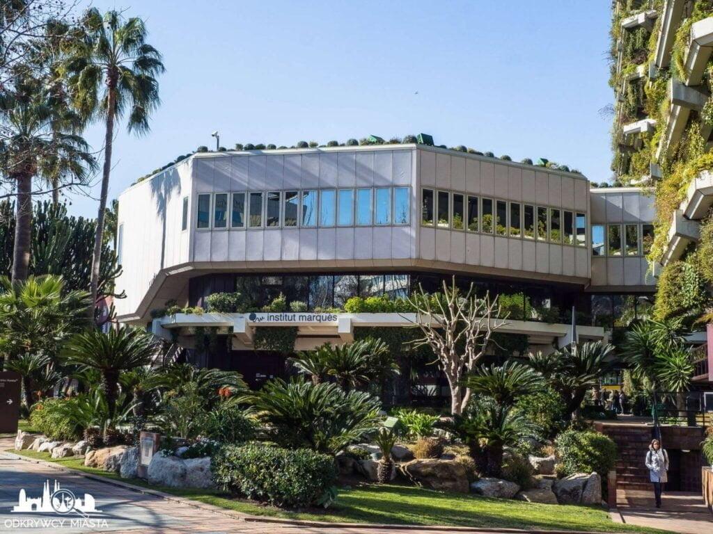 Pionowa ogrody fundacja planeta mały budynek instytut marques