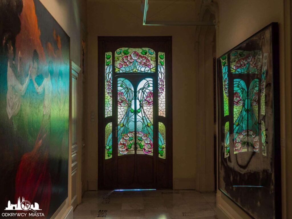Casa Felip drzwi z witrażami