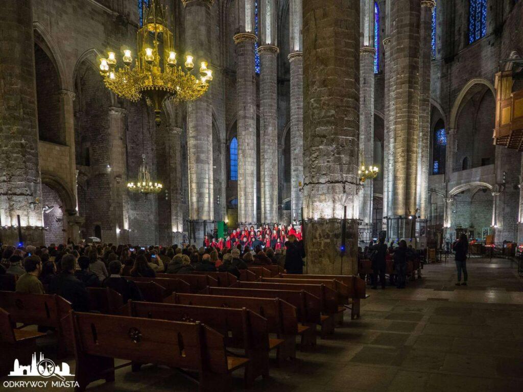 Santa Maria del mar występ chóru