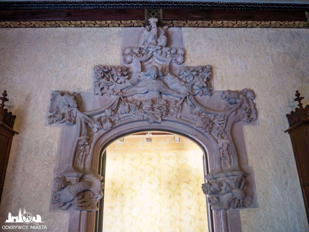 casa amatller portal wejściowy