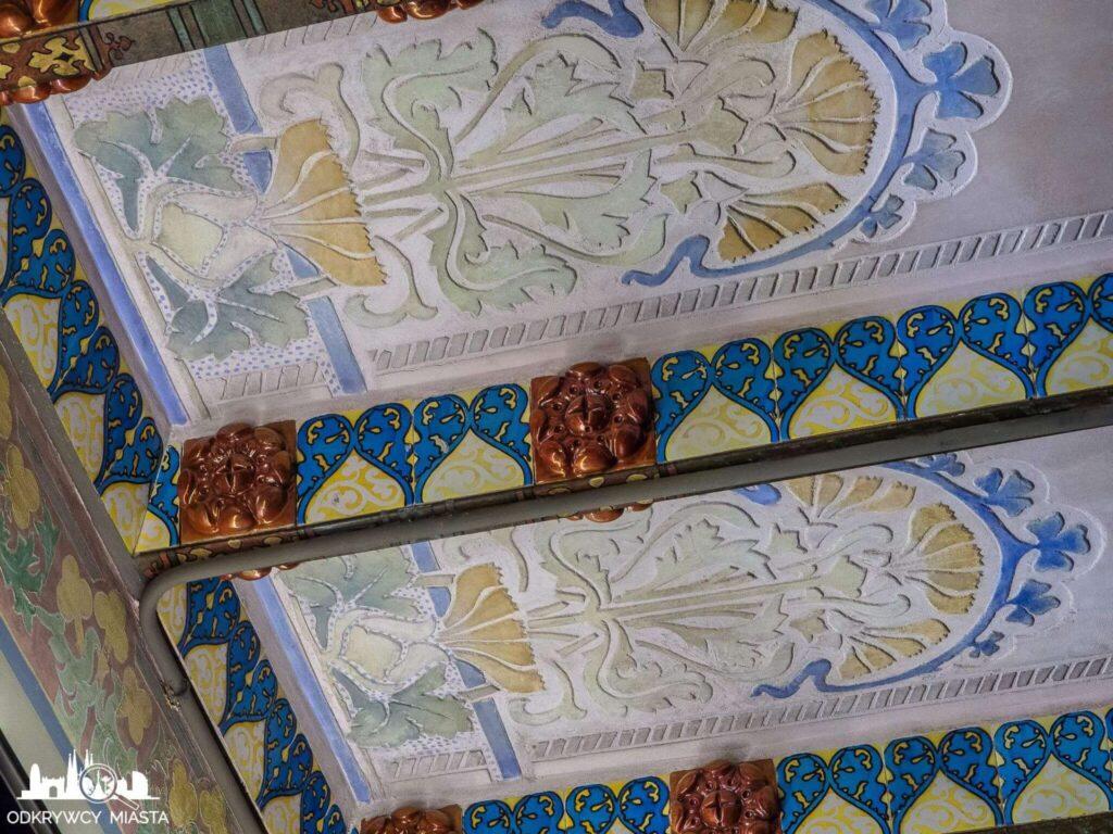 casa amatller dekoracje ścian i kolorowe sgrafiti