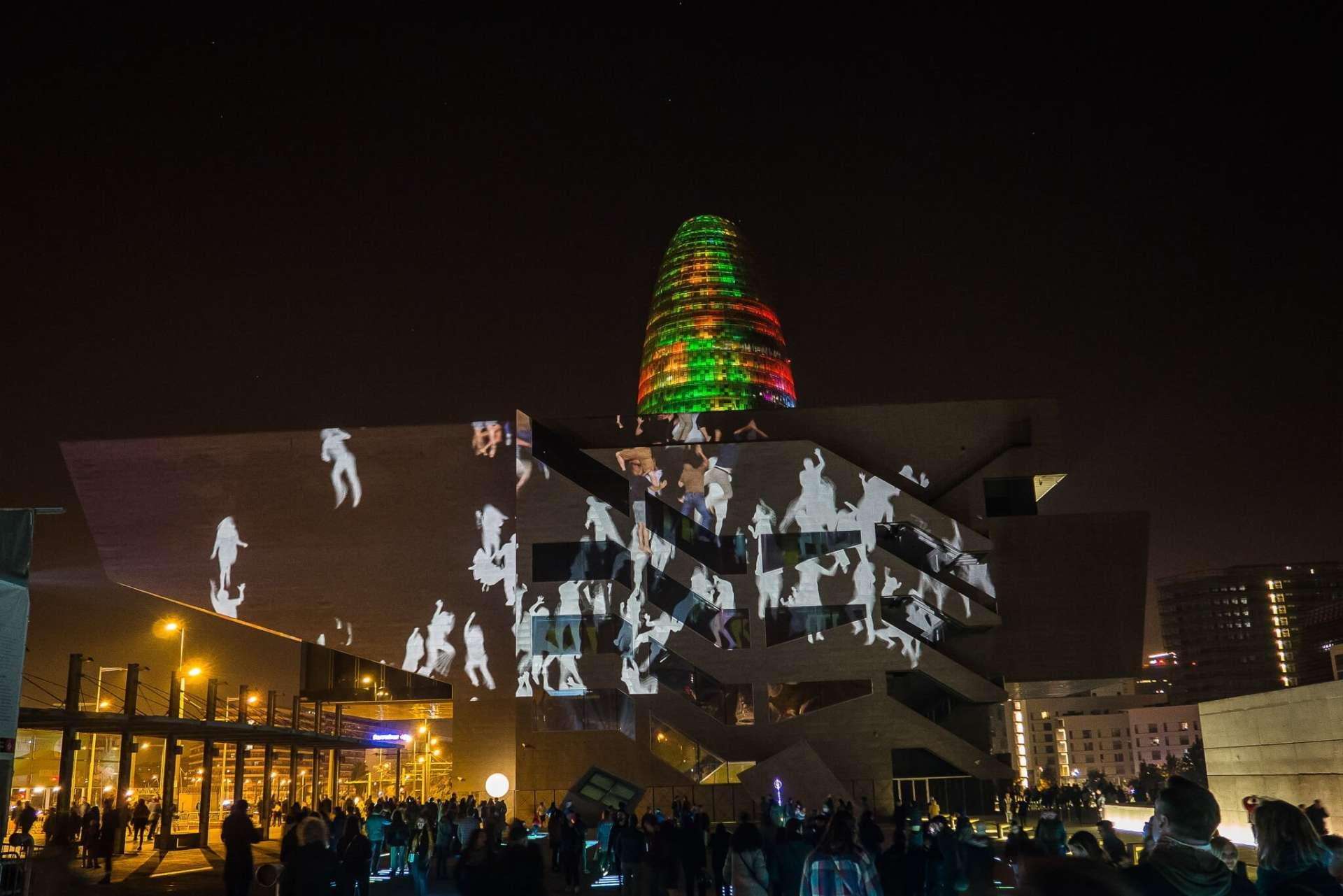festiwal światła w Barcelonie