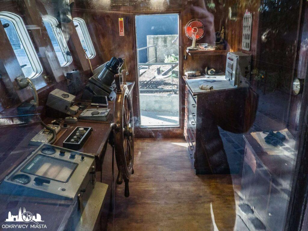 muzeum morskie wnętrze kabiny kutra