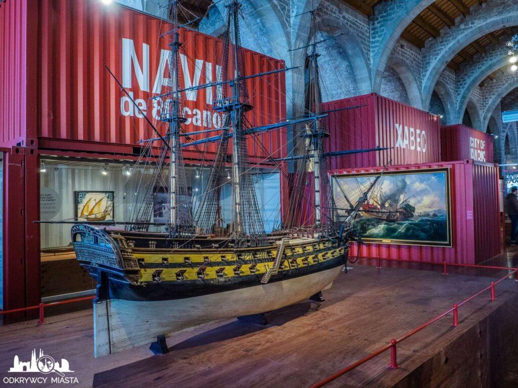 muzeum morskie żaglowiec z XV w.