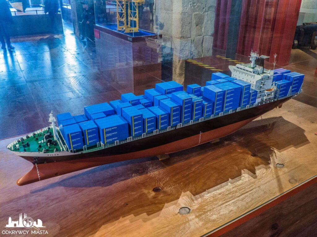 muzeum morskie kontenerowiec
