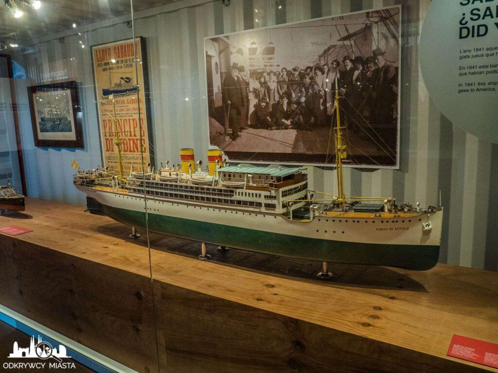 muzeum morskie statek pasażerski z okresu międzywojennego