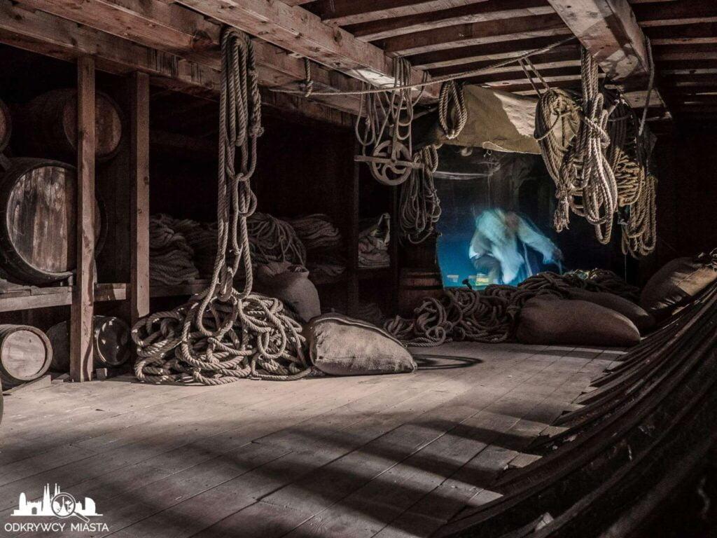 muzeum morskie wnętrze galery