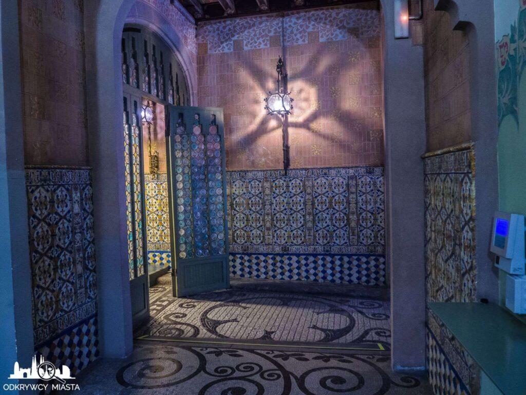Pałac Baron de Quadras hol dla najemców