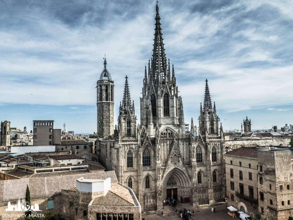 Katedra św. Eulali fasada główna
