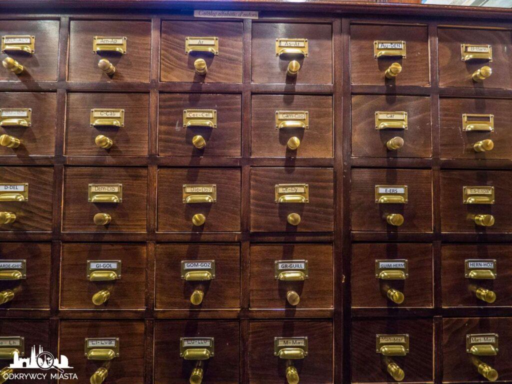 Masońska Biblioteka Arus tradycyjny katalog ksiąg