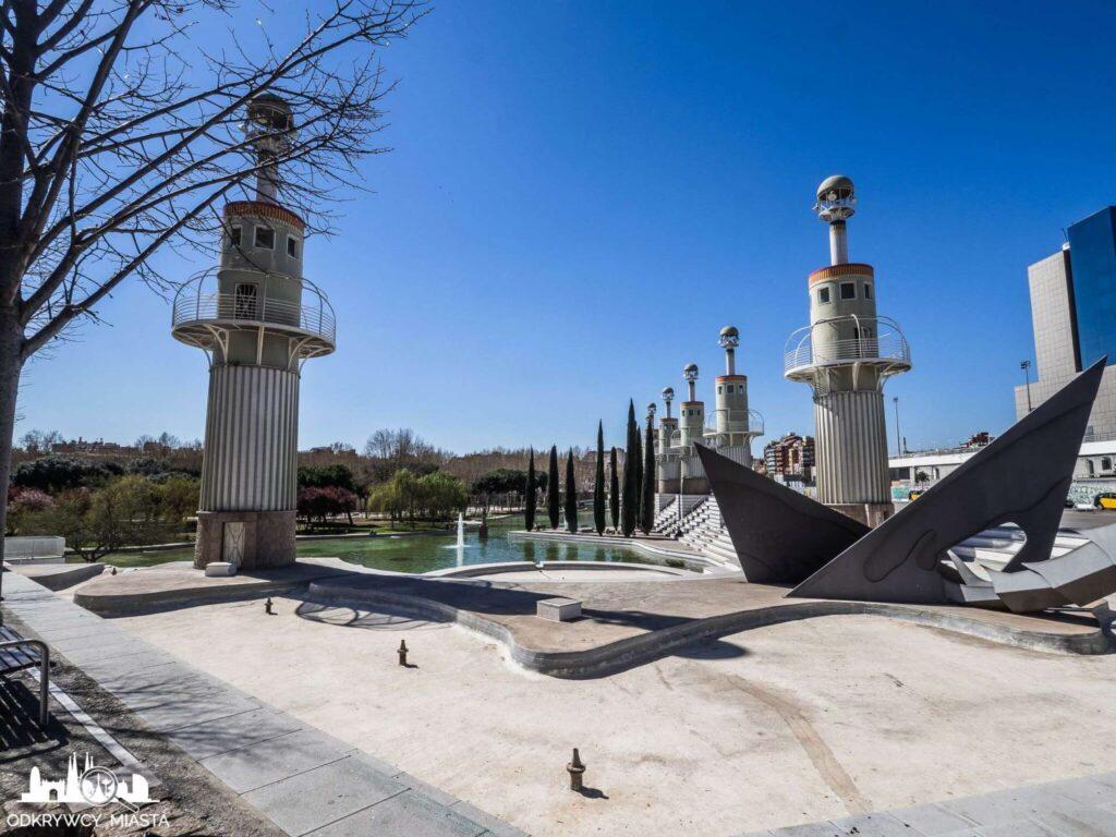 Park ze smokiem sans widok na park od strony smok