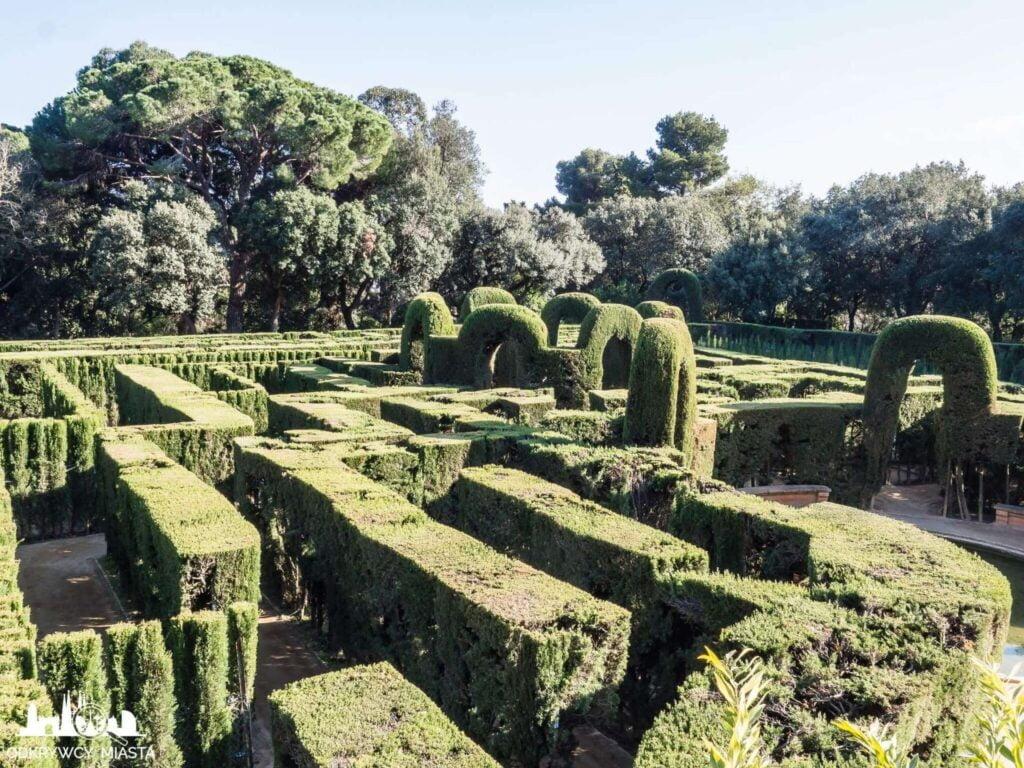 Park z Labiryntem Horta labirynt z roślin
