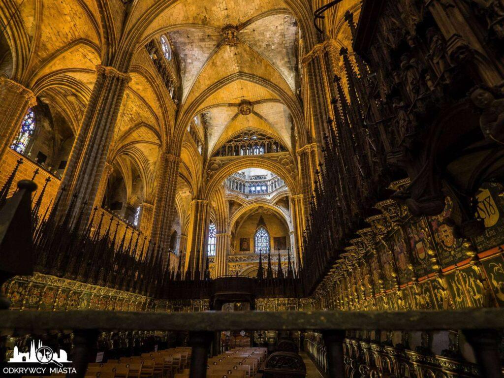 Katedra św. Eulali widok na całą katedrę
