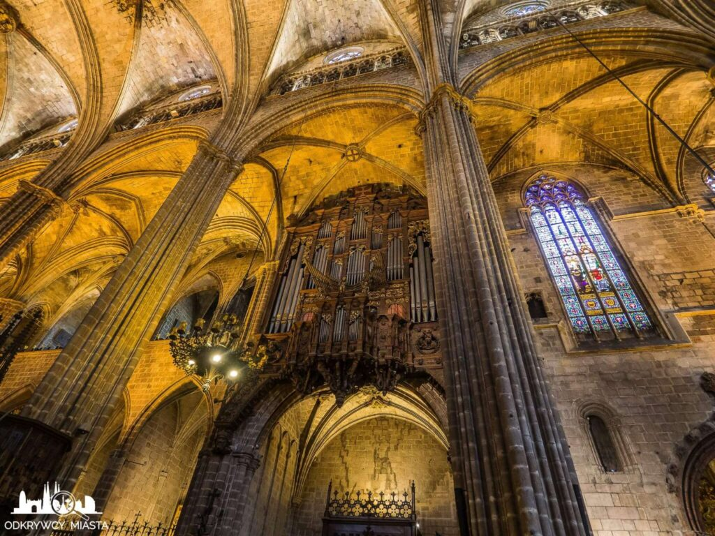 Katedra św. Eulali organy