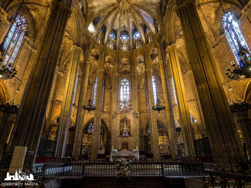 Katedra św. Eulali ołtarz główny