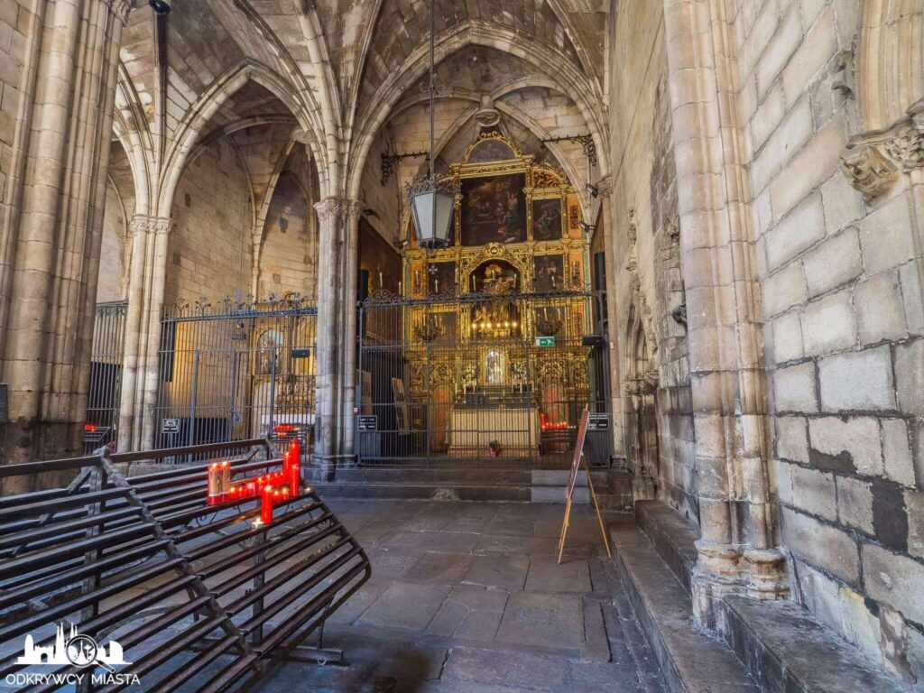 Katedra św. Eulali krużganki katedry