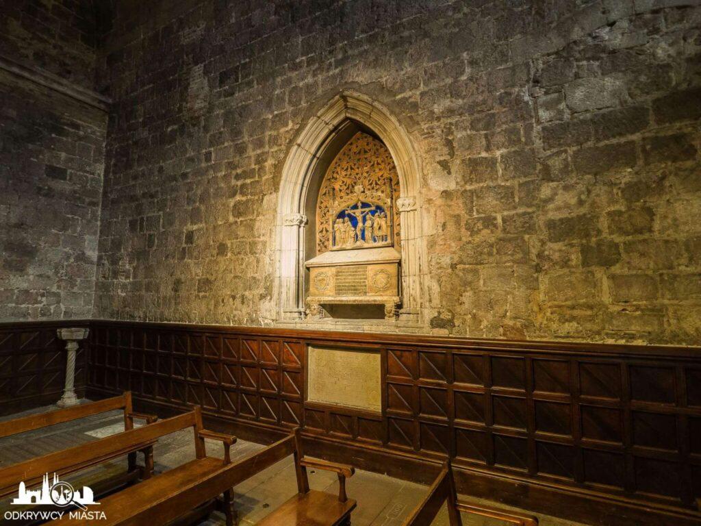 Katedra św. Eulali grobowiec templariuszy