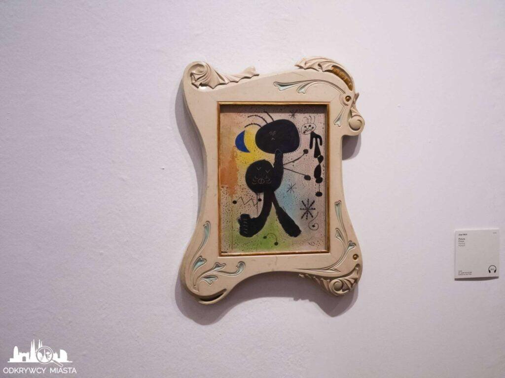 Fundacja Joan Miro obraz mrówka