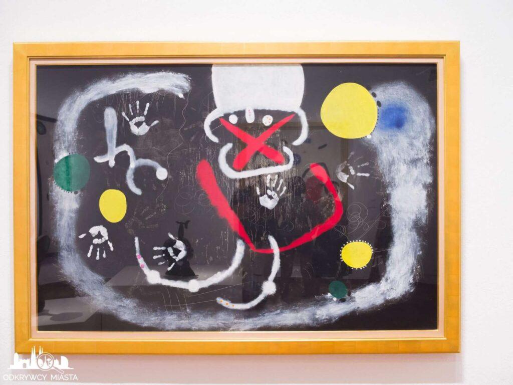 Fundacja Joan Miro obraz wojny