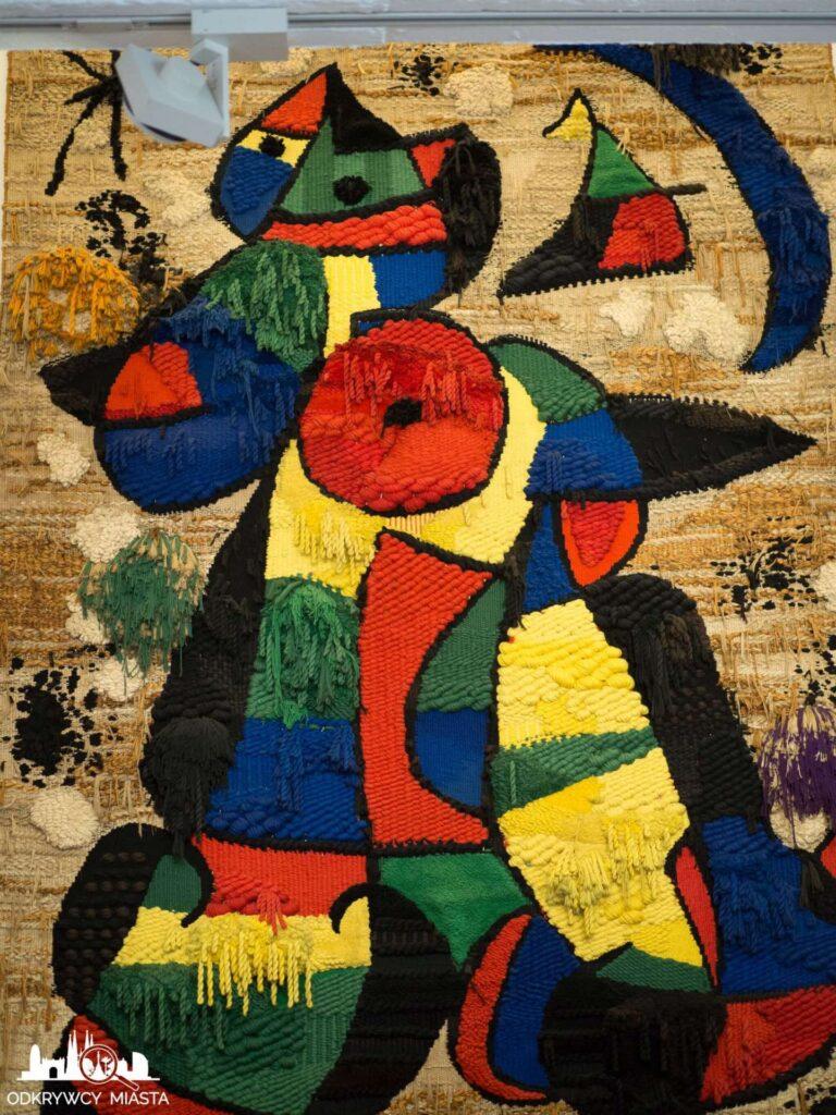 Fundacja Joan Miro gobelin