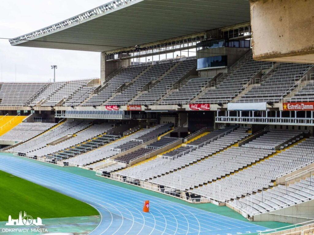 Park olimpijski zadaszone trybuny stadionu olimpijskiego