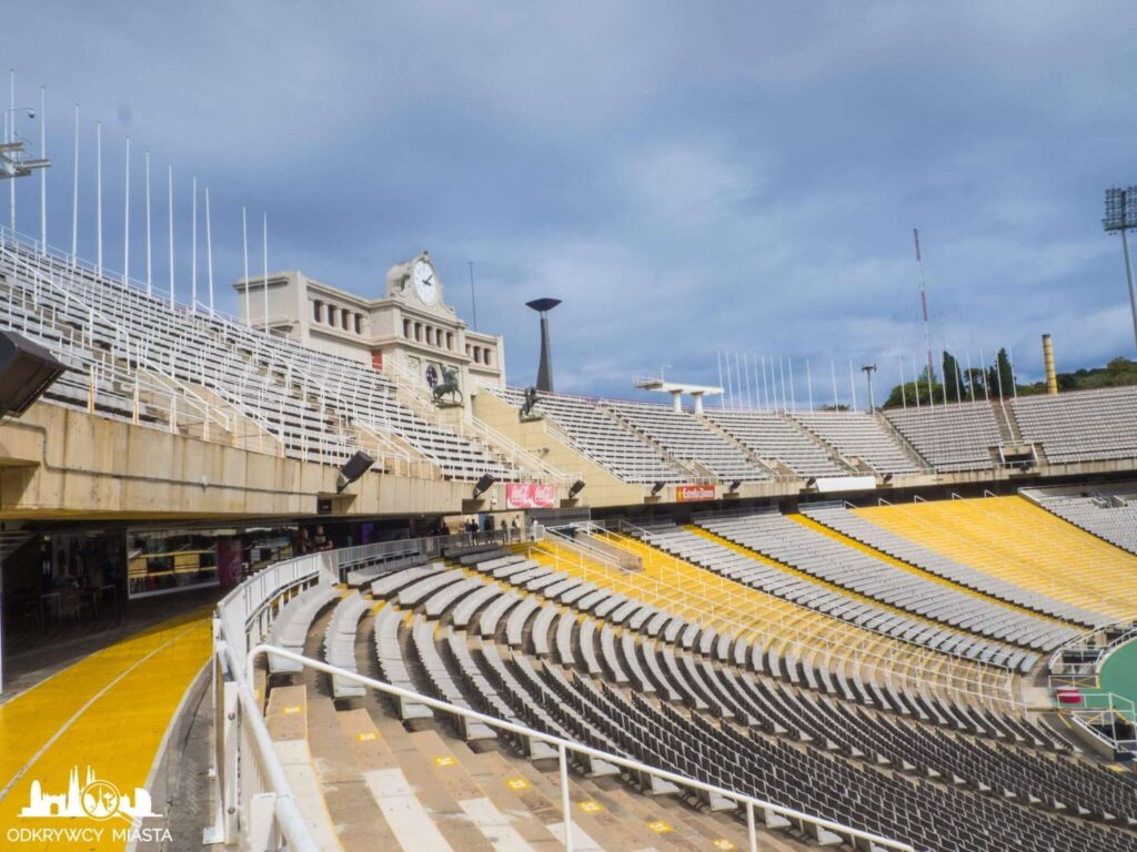 Park olimpijski trybuny stadionu olimpijskiego