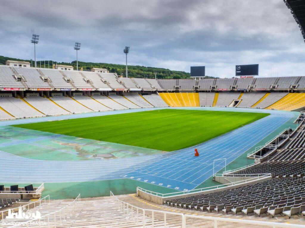 Park olimpijski murawa stadionu olimpijskiego