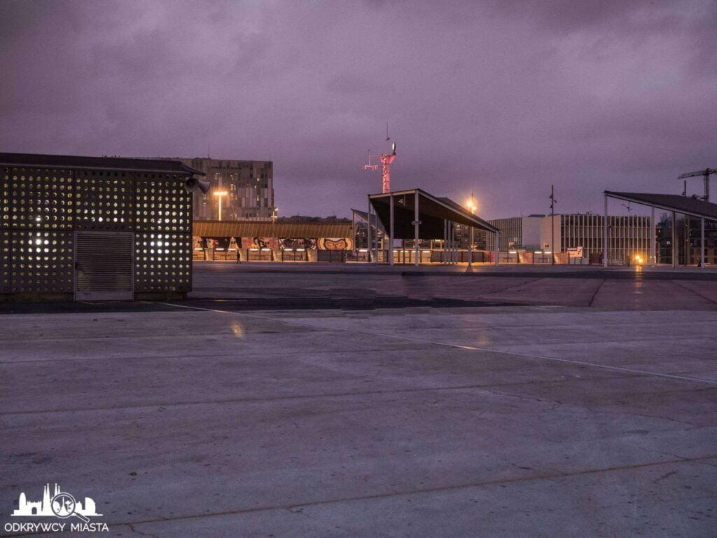Park forum betonowy park