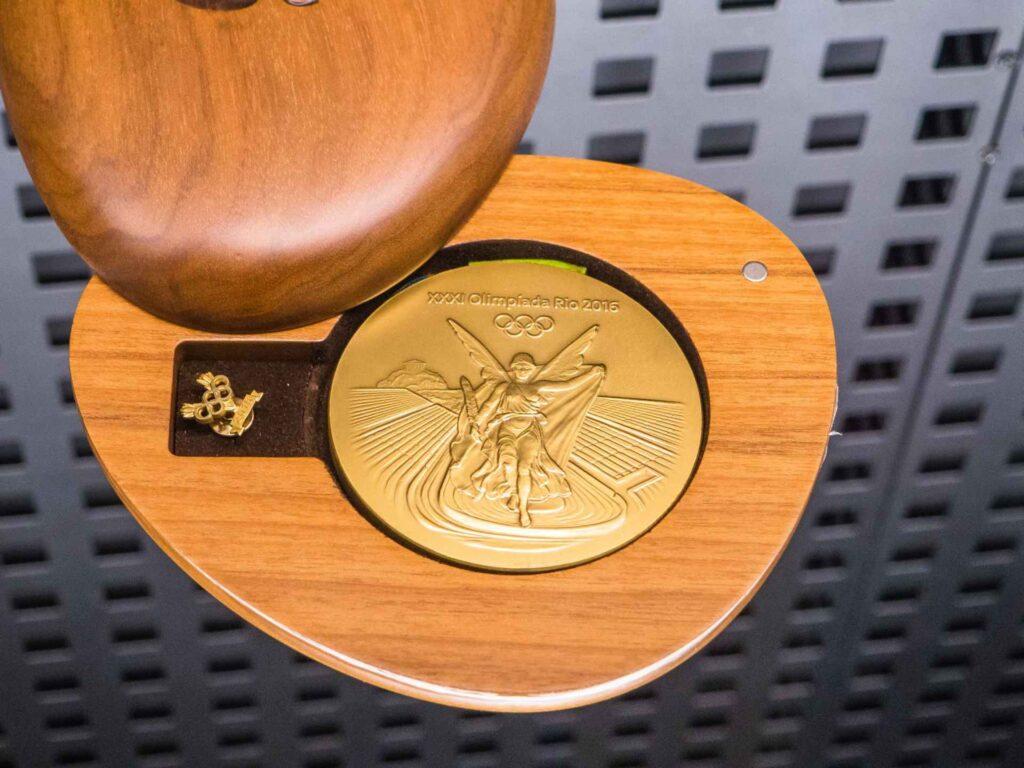 Muzeum olimpijskie w Barcelonie medal z igrzysk w RIO 2016