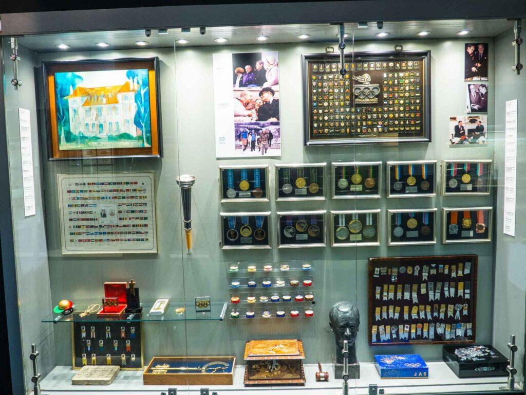 Muzeum olimpijskie w Barcelonie medale olimpijskie