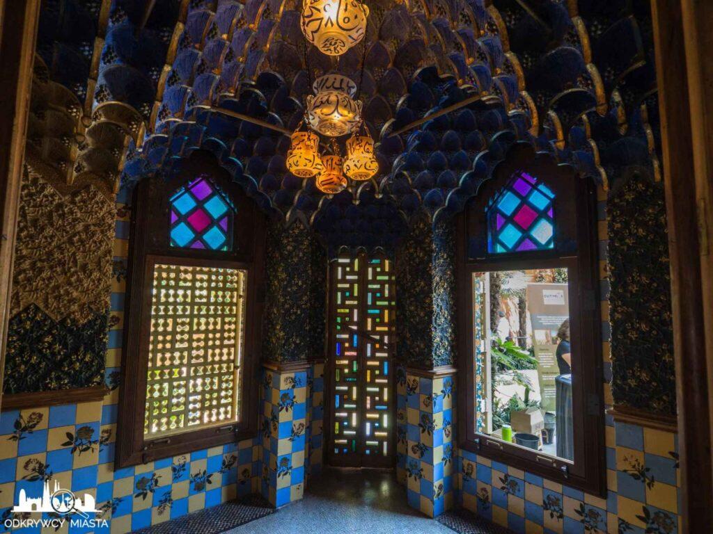 casa vicens pokój arabski
