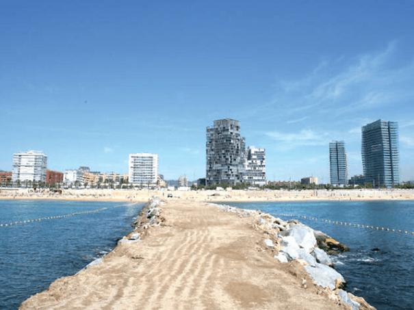 Plaże Barcelony mar bella