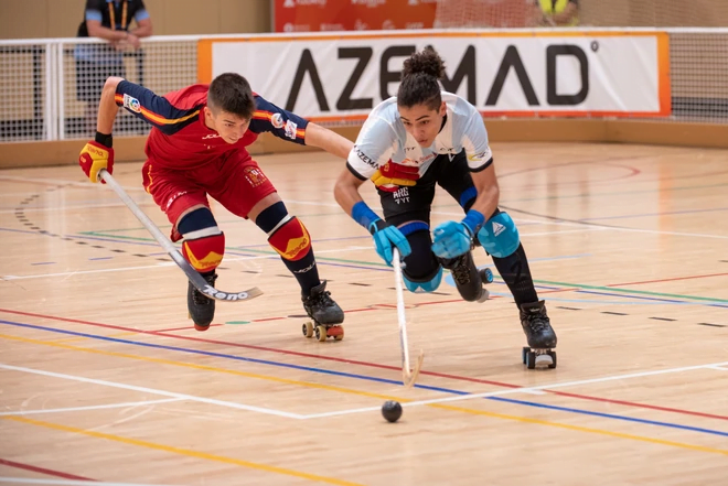lipiec w Barcelonie world roller games