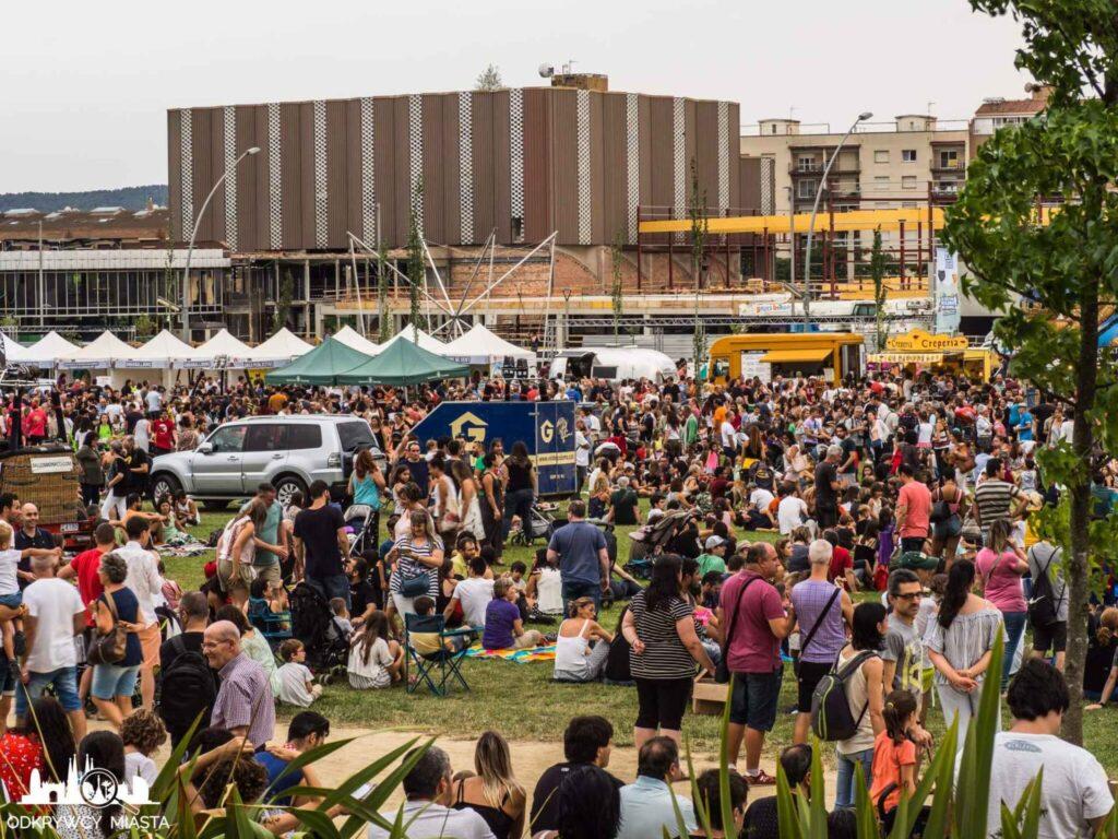 Europejski festiwal Balonówprzygotowania