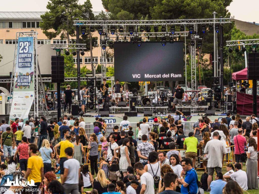 Europejski festiwal Balonów koncert