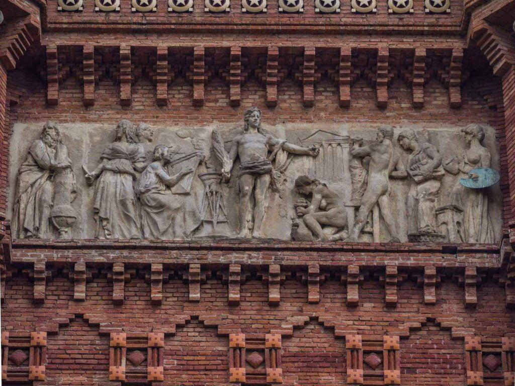 Arc de triumf płaskorzeźba