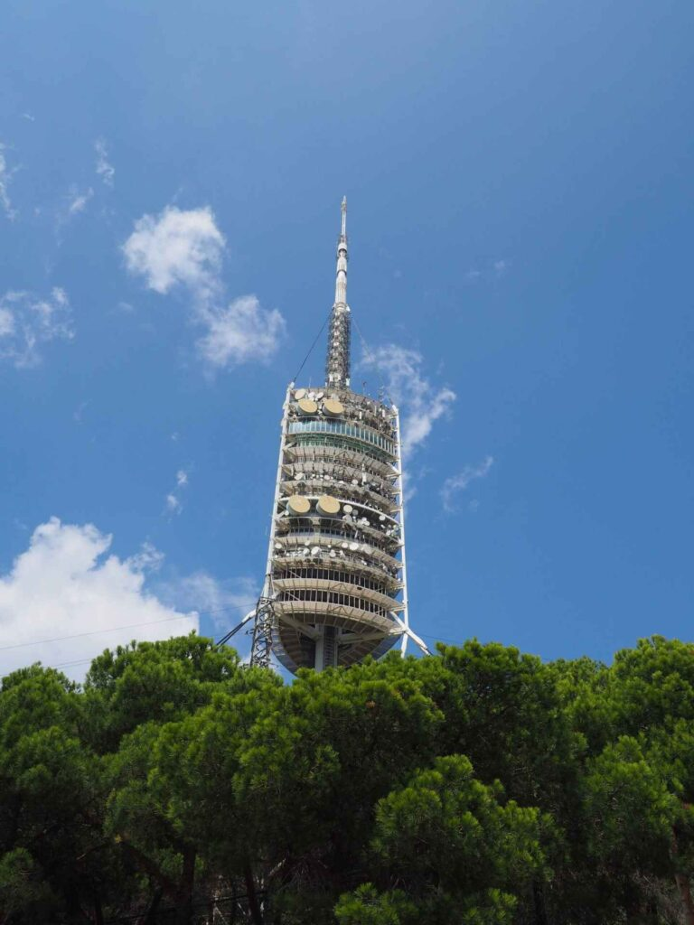 wieża torre de collserola