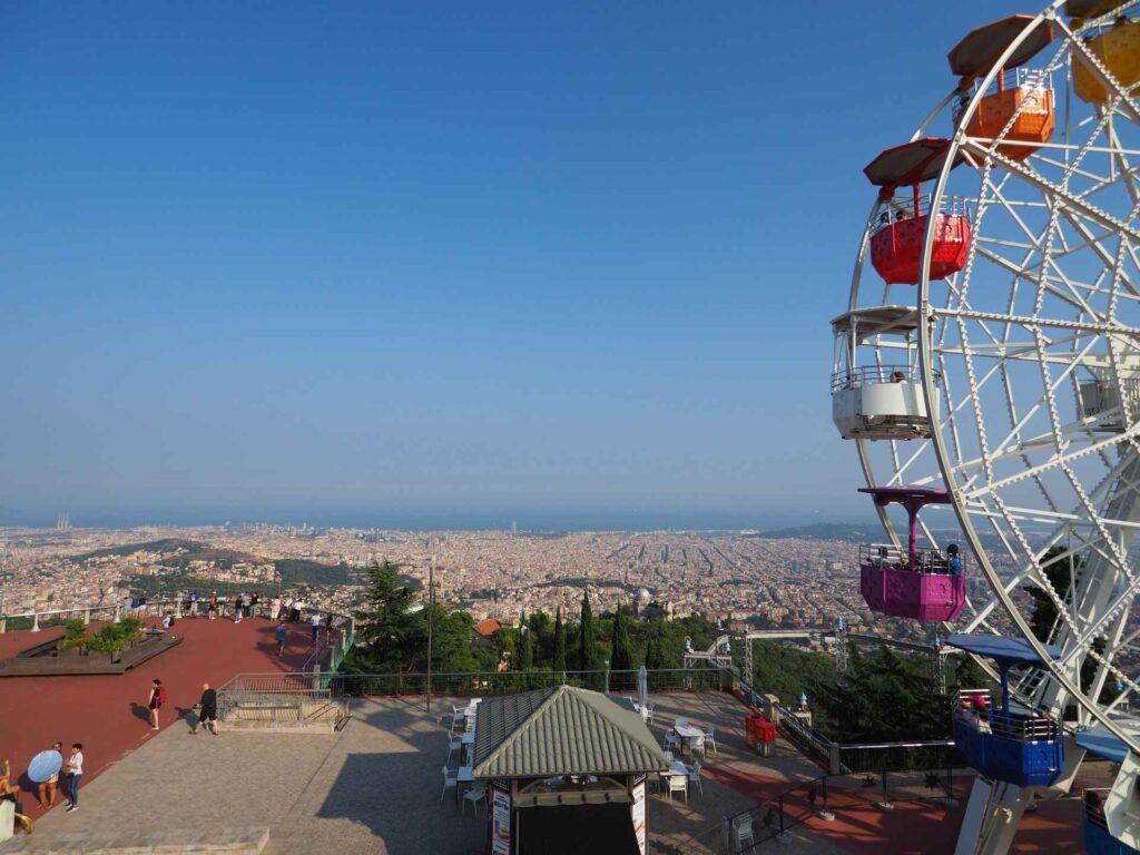 Widok na miasto Barcelona