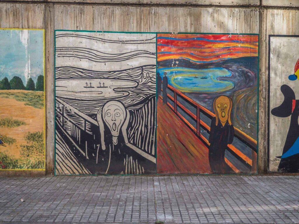 Barcelońska Galeria sztuki edward munch
